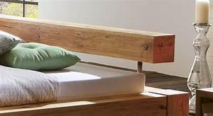 Schwebebett Selber Bauen : futonbett aus wildeiche z b in gro e 140x200 linares ~ Indierocktalk.com Haus und Dekorationen