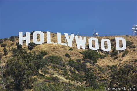 hollywood sign griffith park hike california drive hikes travel