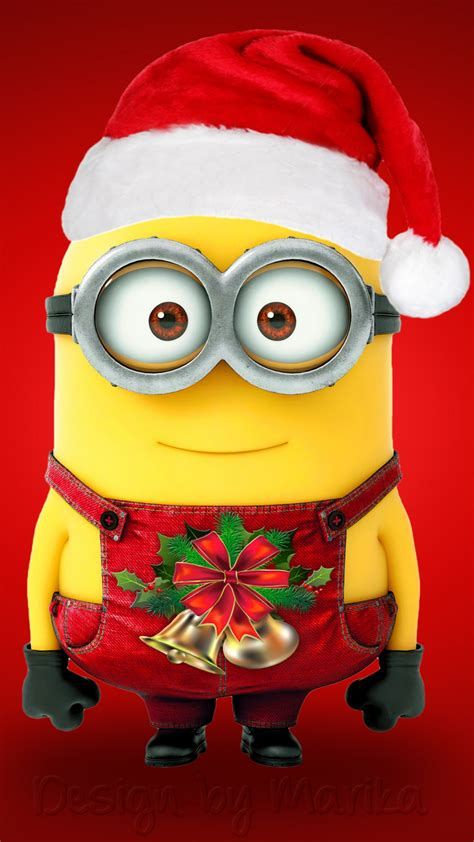 wallpaper minion santa claus hd celebrations