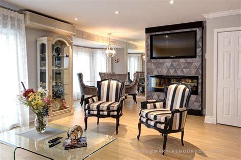 couleur cuisine salon air ouverte déco d 39 une aire ouverte tout en élégance martine bourdon