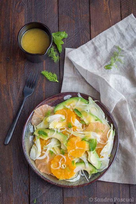 fenouil cuisine salade au fenouil agrumes avocat cuisine addict