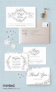 25 best ideas about grey wedding invitations on pinterest With kelly paper wedding invitations