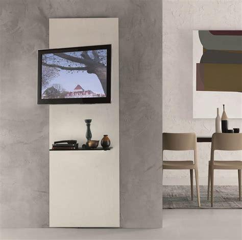 Mensole Porta Tv by Mobile Porta Tv In Cristallo Con Mensola Orientabile A