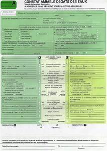 Imprimer Constat Amiable : comment remplir un constat d assurance d g t des eaux ~ Gottalentnigeria.com Avis de Voitures