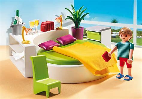 chambre avec lit rond jouet playmobil 5583 chambre des parents avec lit rond