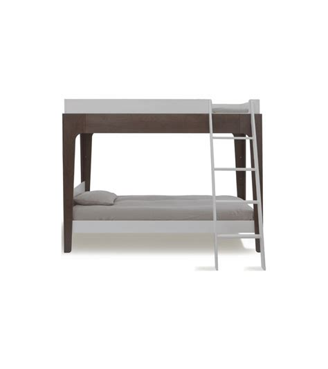oeuf perch bunk bed in white walnut