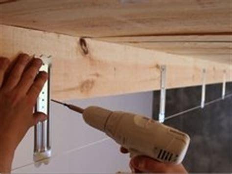 comment poser un faux plafond sur ossature bois leroy merlin