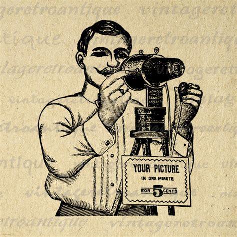 14347 photographer clipart vintage digital printable antique photographer by vintageretroantique