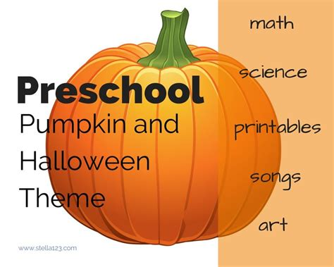 pumpkin theme for preschoolers the board 508 | a7daea56344d4a5b400b9a3c50613a6b