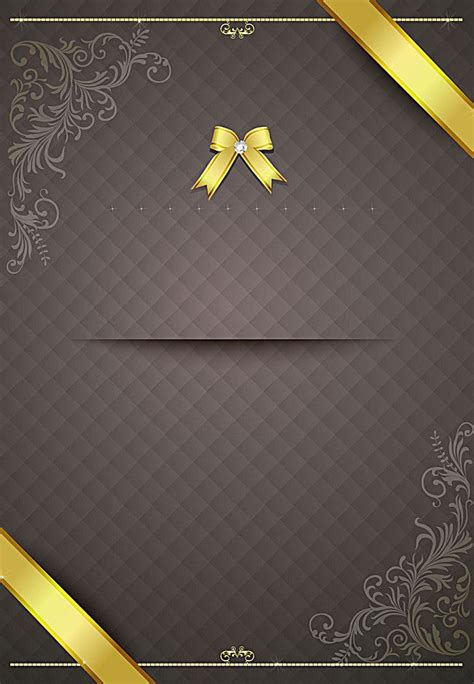 ribbon bow pattern invitation invitation card background