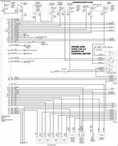 Honda 2000 - Diagramas Control Del Motor - Graphics - Esquemas