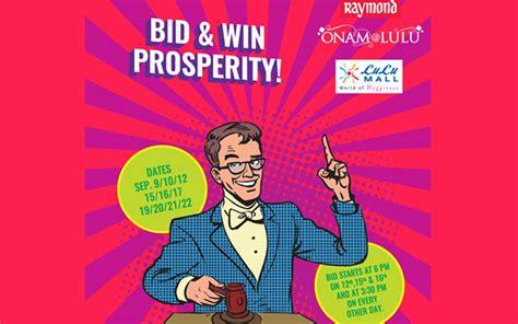 Bid And Win Bid And Win Prosperity At Lulu Mall