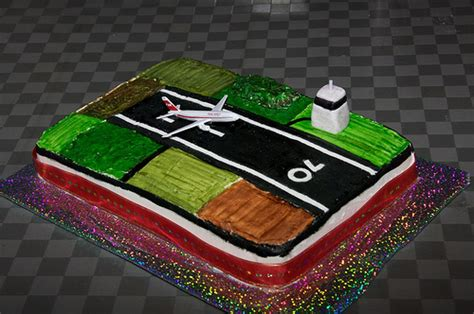Airport Cake  Cake For 70th Birthday  Sheona Tucker Flickr