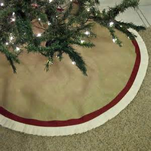 turnbow family burlap tree skirts