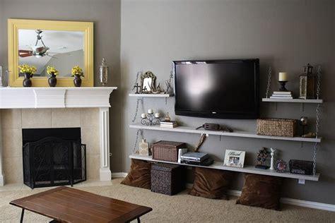 shelves  tv ideas  pinterest decorating