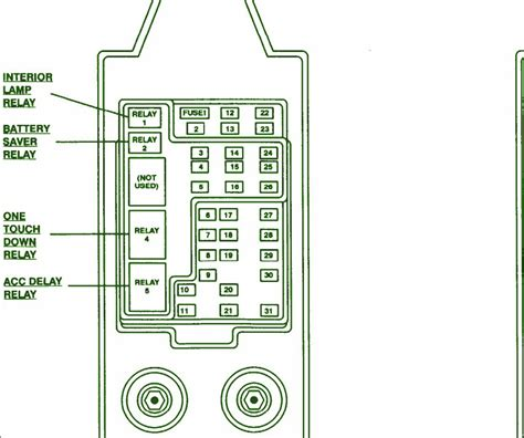 1997 Ford F 150 Fuse Box Diagram For Horn by 1997 Ford F150 4 215 4 436l Fuse Box Diagram Circuit Wiring