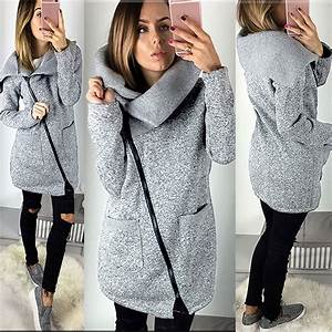 2017 Hot Womens Autumn Winter Warm Long Cardigan Sweater ...