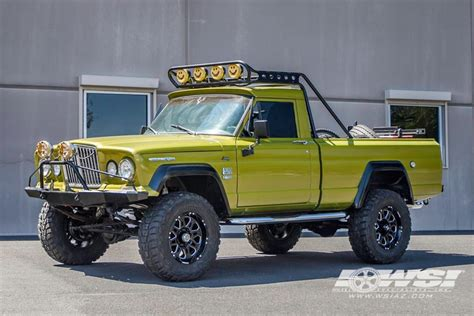 jeep honcho custom 1968 jeep gladiator with 18 quot hostile wheels by wheel