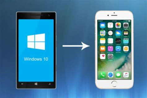 how to switch from a windows phone to iphone step by step guide