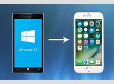 How to switch from a Windows Phone to iPhone Step by Step