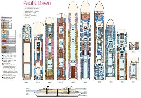 deck layout pacific dawn aussie cruising