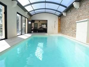 superbe villa avec piscine interieure privee chauffee With location maison avec piscine interieure