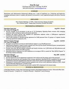 military resume examples project scope template With civilian to military resume