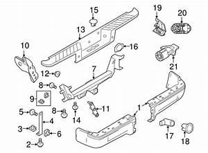2004 F150 Body Parts Diagram : bumper components rear for 2010 ford f 150 ~ A.2002-acura-tl-radio.info Haus und Dekorationen