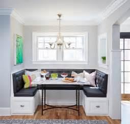 Kitchen Island Booth Ideas by Bistro Style Kitchen With Breakfast Nook Home Bunch