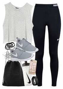 U0026quot;Outfit for the gym with Nike itemsu0026quot; by ferned on Polyvore featuring Monki NIKE MINKPINK Kara ...