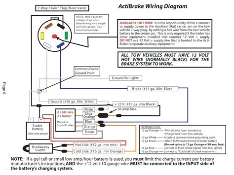 trailer junction box wiring diagram