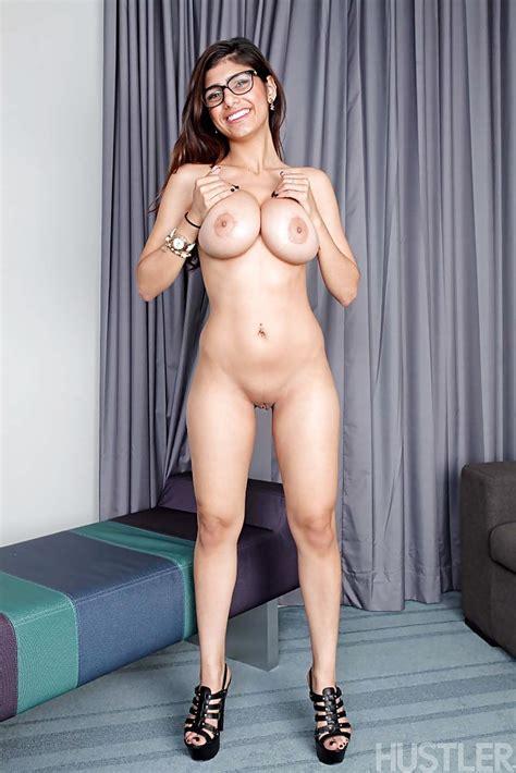 Exotic Pornstar Mia Khalifa Unveiling Nice Melons And