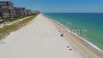 Aerial Footage Of Lauderdale By The Sea Stock Footage ...