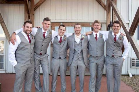 high quality  buttons light grey groom tuxedos