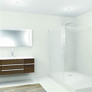 Receveur Douche Pret A Carreler : receveur de douche avec coulement horizontal int gr pr t ~ Premium-room.com Idées de Décoration