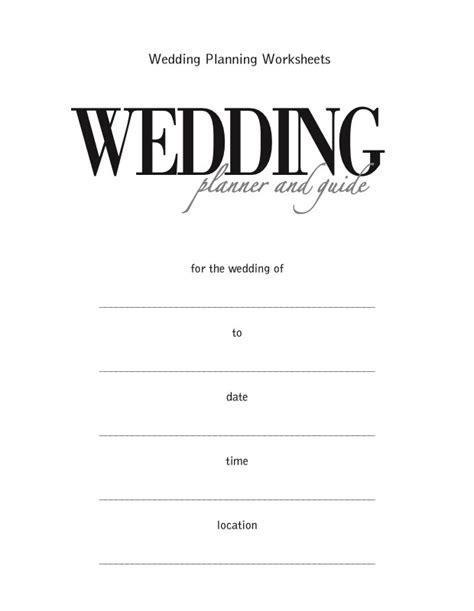 5 Categories How to Start Your Wedding Guest List