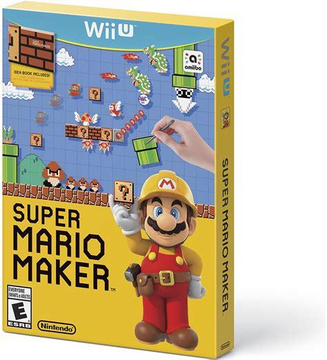 super mario maker bundle nintendo wii  game