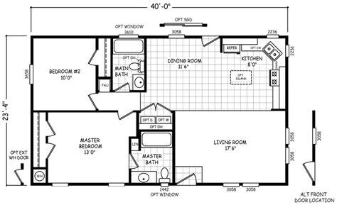 Homes Floor Plans 24 X 40