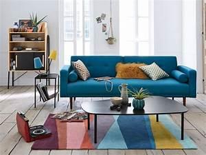 ou trouver des canapes clic clac a prix legers notre With tapis de yoga avec canapé bleu 2 places