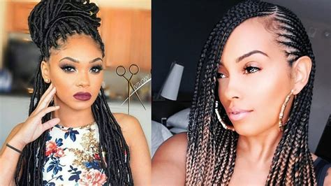 Braided Hairstyles For Black Women 2019 With Different