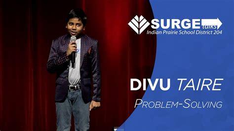Problem-Solving | Divu Taire | 204 Surge Talks - YouTube