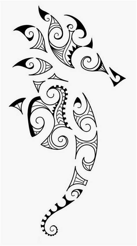 Tattoos Book: +2510 FREE Printable Tattoo Stencils: Seahorse tattoo stencils