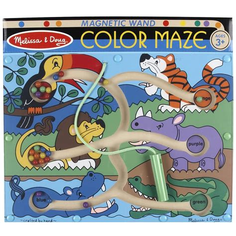 magnetic color maze color flutter butterfly magnetic wand marble maze