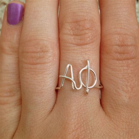 Alpha Phi Sorority Ring