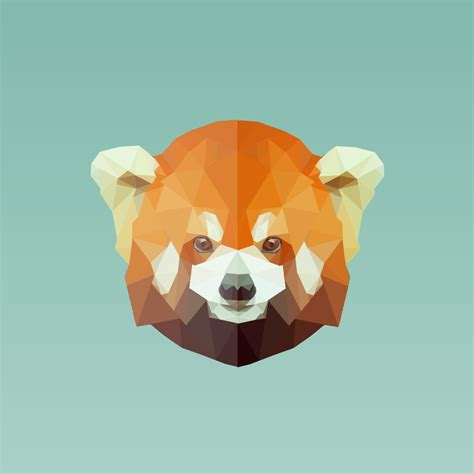 Low Poly Animal Wallpaper - low poly panda by georgehd on deviantart