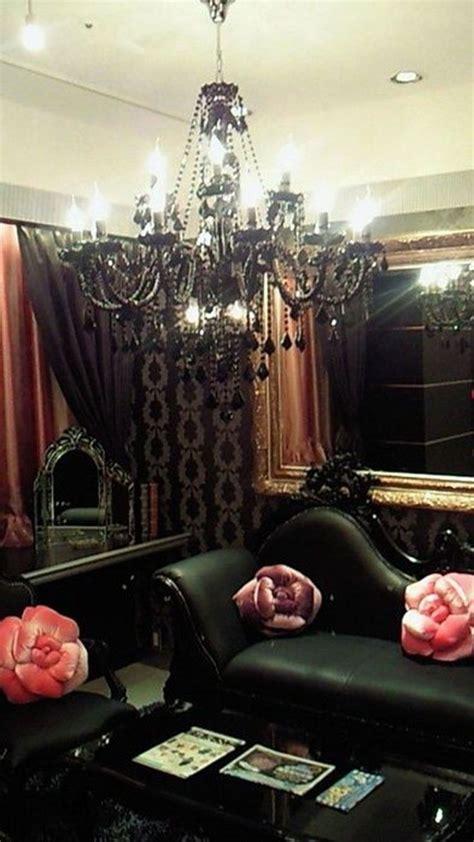 dramatic gothic living room designs interior god