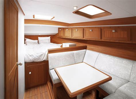 Wooden Boat Interiors by Beautiful Wooden Cabin Deisgn Of Boat Interior Boat
