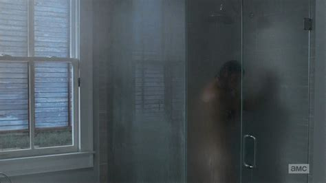 The Walking Dead  Shower Scene In The Last Episode