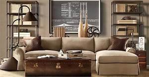 Objet Deco Design Salon : un int rieur de maison la tendance r tro dans l esprit ~ Teatrodelosmanantiales.com Idées de Décoration