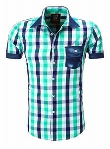 Chemise Homme A Carreau : chemise homme carreau vert 9053 ~ Melissatoandfro.com Idées de Décoration